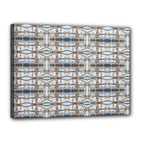 Geometric Diamonds Canvas 16  X 12  by yoursparklingshop