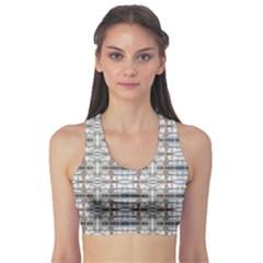 Geometric Diamonds Sports Bra by yoursparklingshop