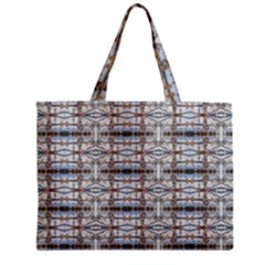 Geometric Diamonds Zipper Mini Tote Bag by yoursparklingshop
