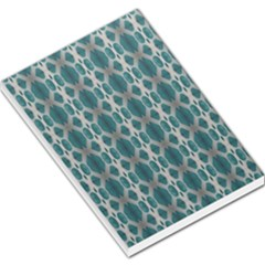 Tropical Blue Abstract Ocean Drops Large Memo Pads by yoursparklingshop