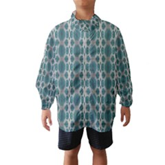 Tropical Blue Abstract Ocean Drops Wind Breaker (kids) by yoursparklingshop