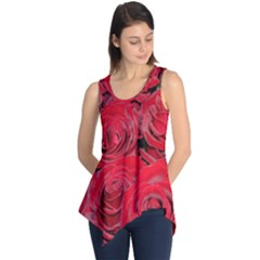 Red Roses Love Sleeveless Tunic
