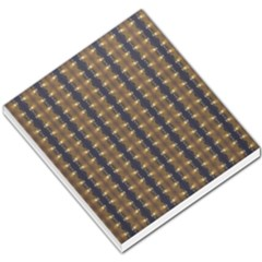 Black Brown Gold Stripes Small Memo Pads