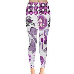 Fms Mash Up Leggings  by FunWithFibro