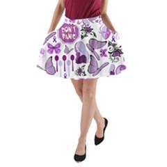 Fms Mash Up A Line Pocket Skirt by FunWithFibro