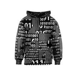 Beautiful Binary Kids  Pullover Hoodie