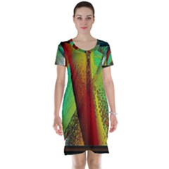 Stained Glass Window Short Sleeve Nightdress
