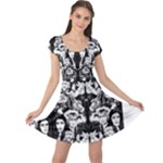 labyrinth skater dress - Cap Sleeve Dress