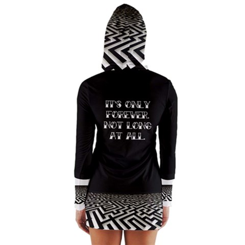Women s Long Sleeve Hooded T-shirt
