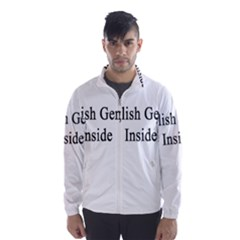 English Genius Inside Wind Breaker (Men) by Supernova23