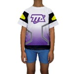Loretta - Miles From Tomorrowland Kid s Short Sleeve Swimwear
