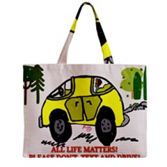 All Life Matters! Zipper Mini Tote Bag