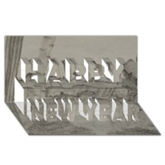 Peace In The Valley  Happy New Year 3d Greeting Card (8x4)