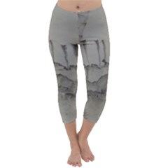 Peace In The Valley Series #44 Capri Winter Leggings  by theplaybillstore