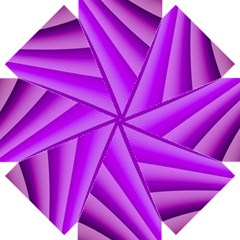 Gentle Folds Of Purple Straight Umbrellas by FunWithFibro
