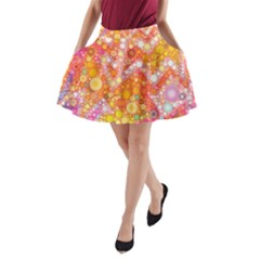 Sunshine Bubbles A-Line Pocket Skirt by KirstenStar