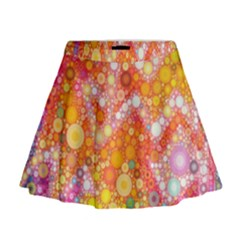 Sunshine Bubbles Mini Flare Skirt