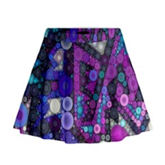 Hipster Bubbes Mini Flare Skirt by KirstenStar