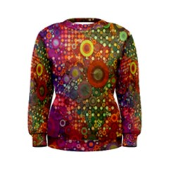 Circle Fantasies Women s Sweatshirt by KirstenStar