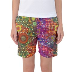Circle Fantasies Women s Basketball Shorts by KirstenStar