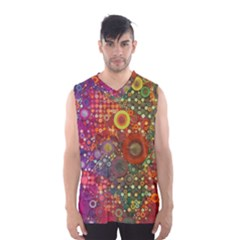Circle Fantasies Men s Basketball Tank Top by KirstenStar
