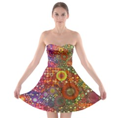 Circle Fantasies Strapless Dresses by KirstenStar