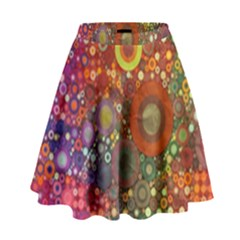 Circle Fantasies High Waist Skirt by KirstenStar