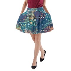 Babybluebubbles A Line Pocket Skirt