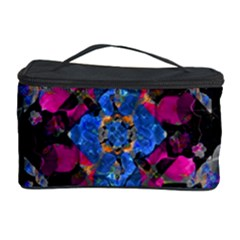Stylized Geometric Floral Ornate Cosmetic Storage Cases by dflcprints