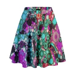 Bubble Chaos High Waist Skirt by KirstenStar