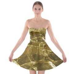 Gold Bar Golden Chic Festive Sparkling Gold  Strapless Dresses by yoursparklingshop
