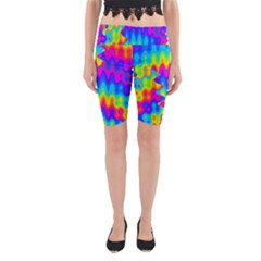 Amazing Acid Rainbow Yoga Cropped Leggings