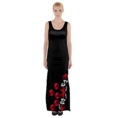 Loves Passion Maxi Thigh Split Dress by saprillika