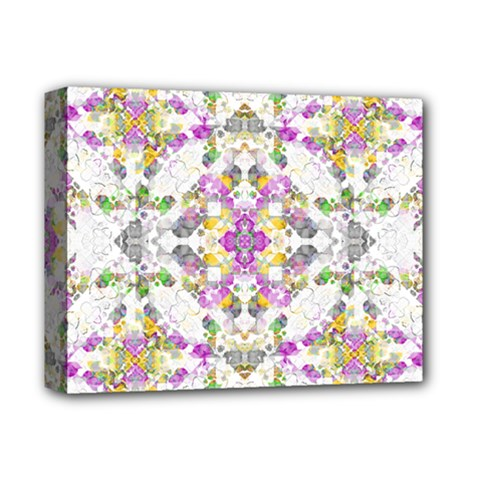 Geometric Boho Chic Deluxe Canvas 14  X 11  by dflcprints