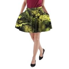 Amazing Fractal 24 A-Line Pocket Skirt by Fractalworld
