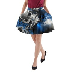 Amazing Fractal 26 A Line Pocket Skirt by Fractalworld