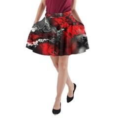 Amazing Fractal 25 A Line Pocket Skirt by Fractalworld