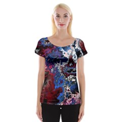 Amazing Fractal 28 Women s Cap Sleeve Top by Fractalworld