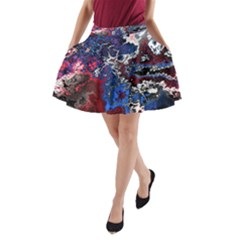 Amazing Fractal 28 A-Line Pocket Skirt by Fractalworld