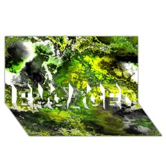 Amazing Fractal 27 Engaged 3d Greeting Card (8x4)