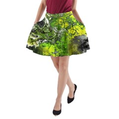 Amazing Fractal 27 A Line Pocket Skirt by Fractalworld