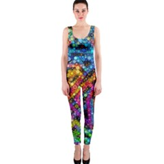 Color Play In Bubbles Onepiece Catsuit by KirstenStar