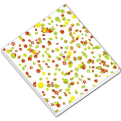 Colorful Fall Leaves Background Small Memo Pads