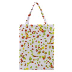 Colorful Fall Leaves Background Classic Tote Bag by TastefulDesigns