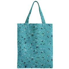 Abstract Cracked Texture Zipper Classic Tote Bag by dflcprints