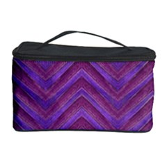 Grunge Chevron Style Cosmetic Storage Cases by dflcprints