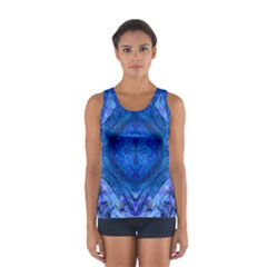 Boho Bohemian Hippie Tie Dye Cobalt Tops by CrypticFragmentsDesign