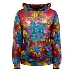 Spirals And Curlicues Women s Pullover Hoodie
