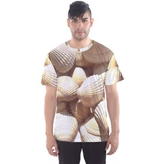 Tropical Exotic Sea Shells Men s Sport Mesh Tee by yoursparklingshop