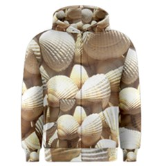 Tropical Exotic Sea Shells Men s Zipper Hoodie by yoursparklingshop